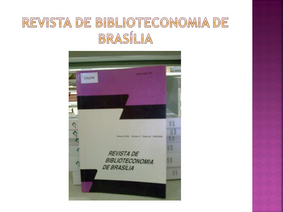 revista de biblioteconomia de brasília