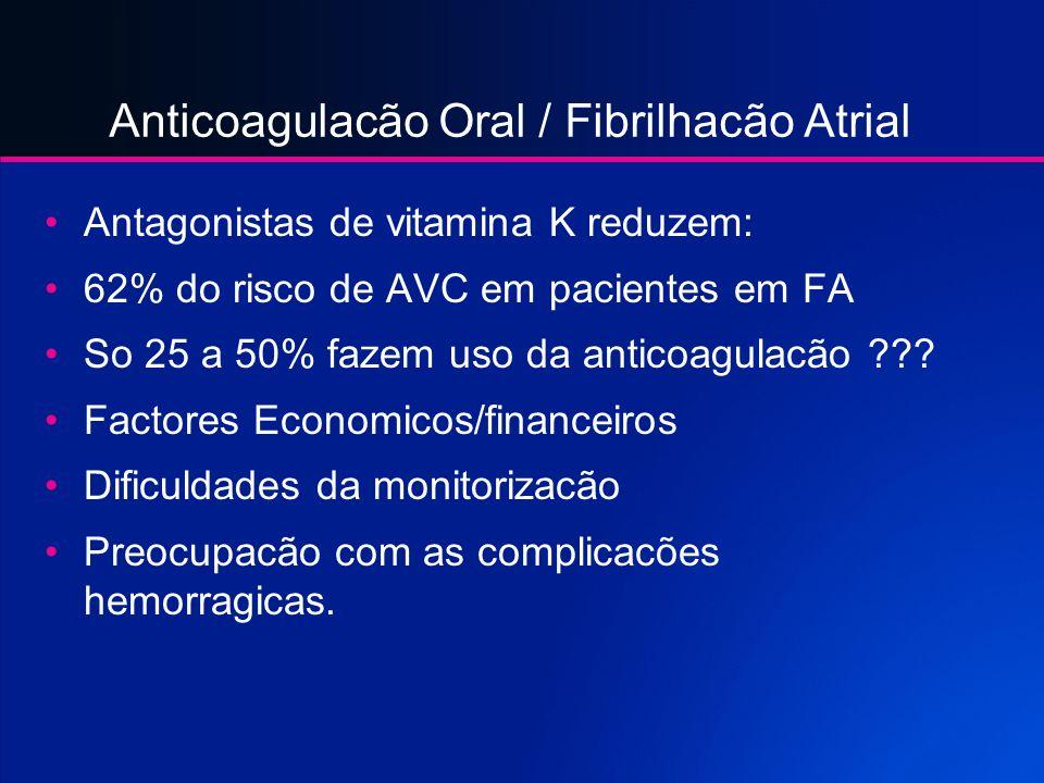Anticoagulacão Oral / Fibrilhacão Atrial