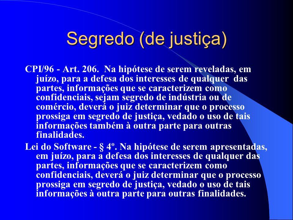 Segredo (de justiça)