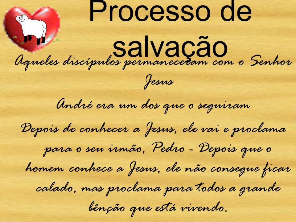 Processo de salvação