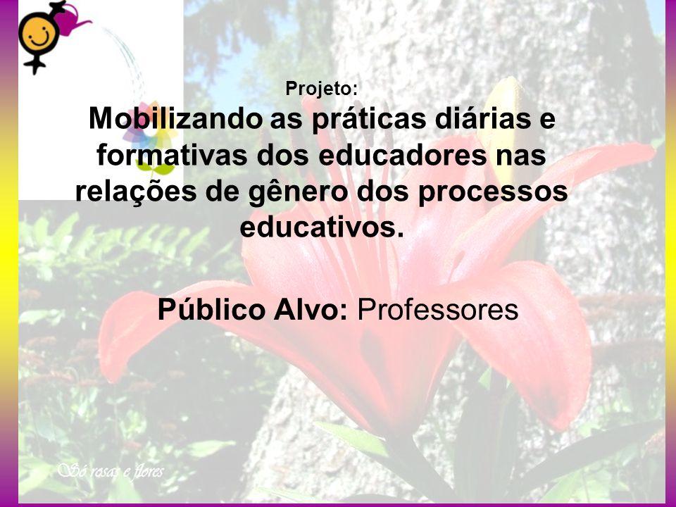 Público Alvo: Professores