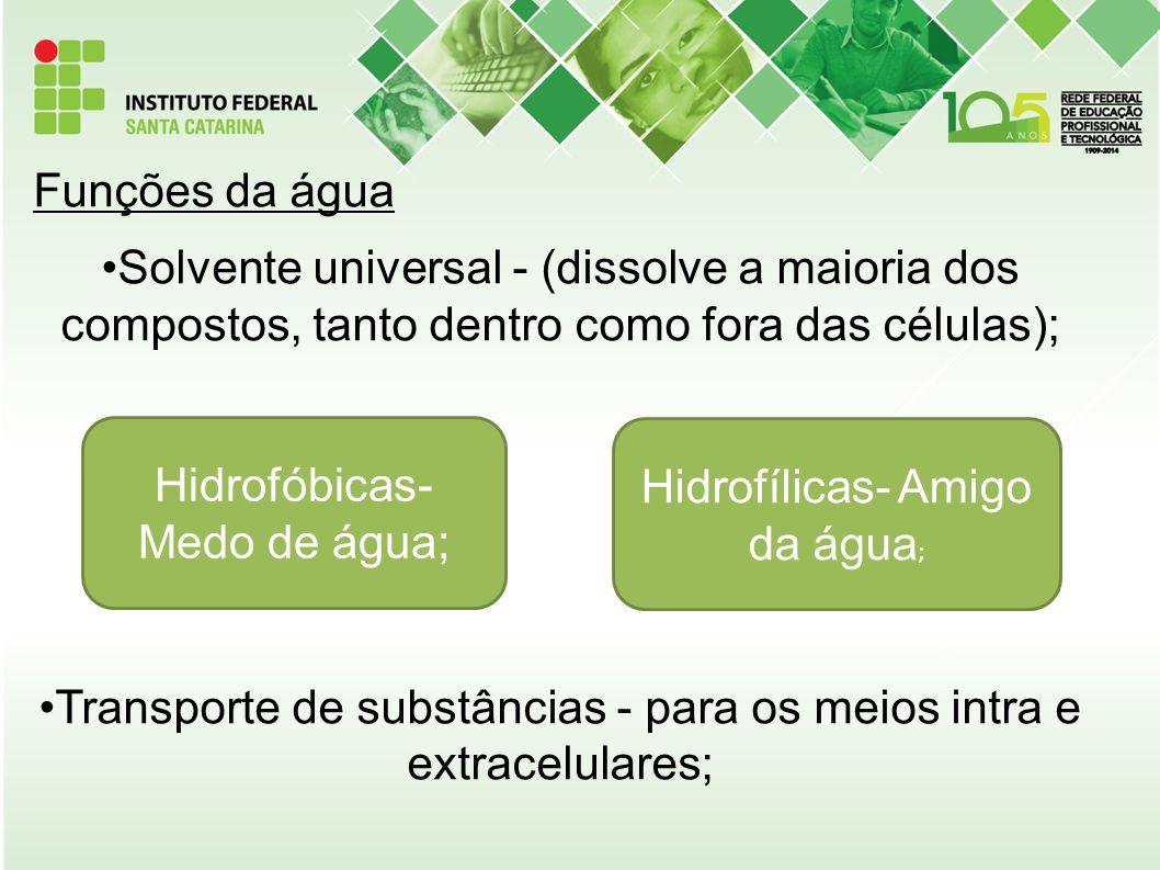 Transporte de substâncias - para os meios intra e extracelulares;