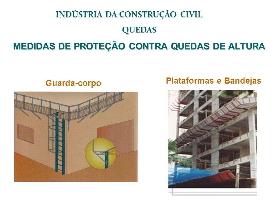 MEDIDAS DE PROTEÇÃO CONTRA QUEDAS DE ALTURA