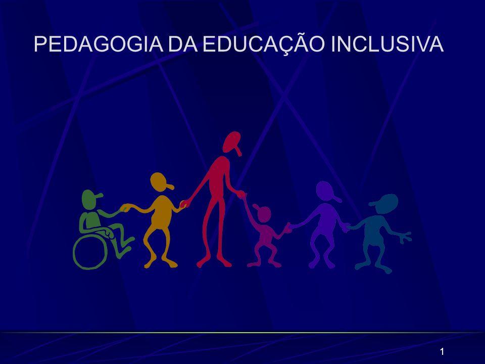 PEDAGOGIA DA EDUCAÇÃO INCLUSIVA