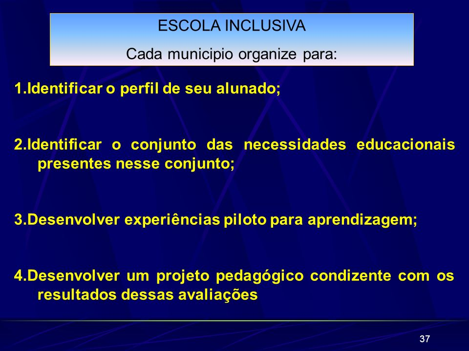 Cada municipio organize para: