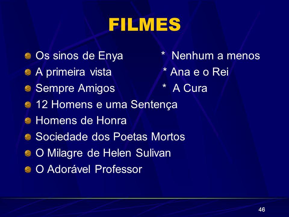 FILMES Os sinos de Enya * Nenhum a menos