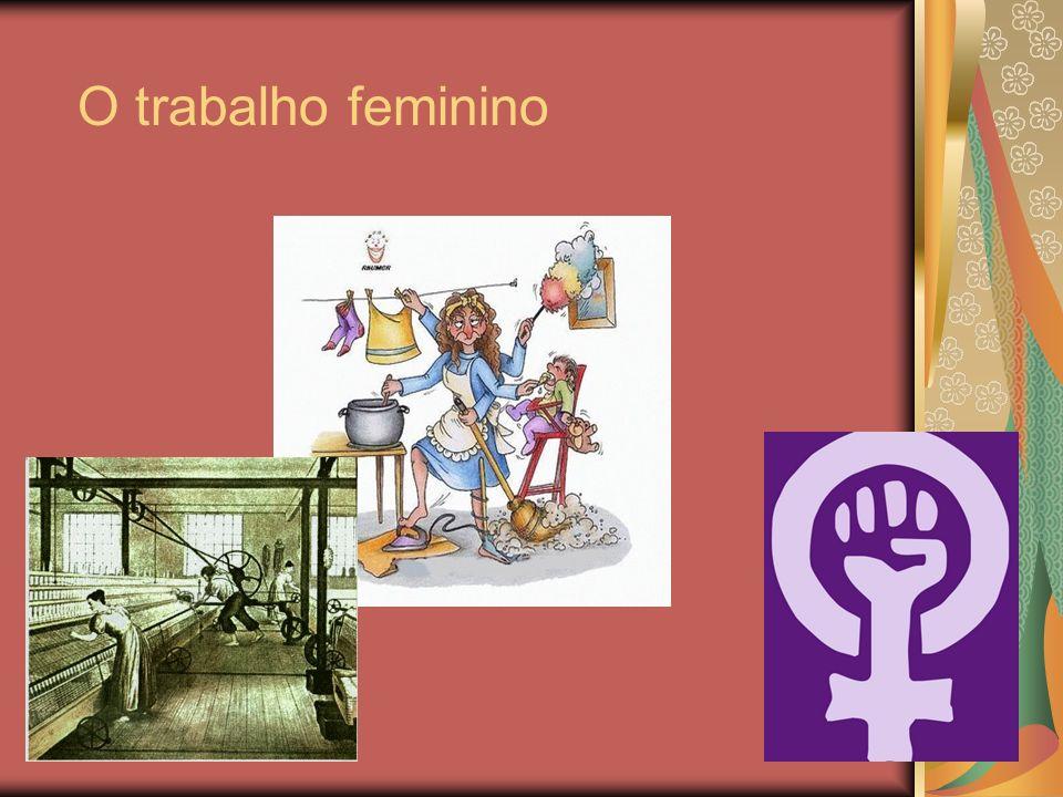O trabalho feminino