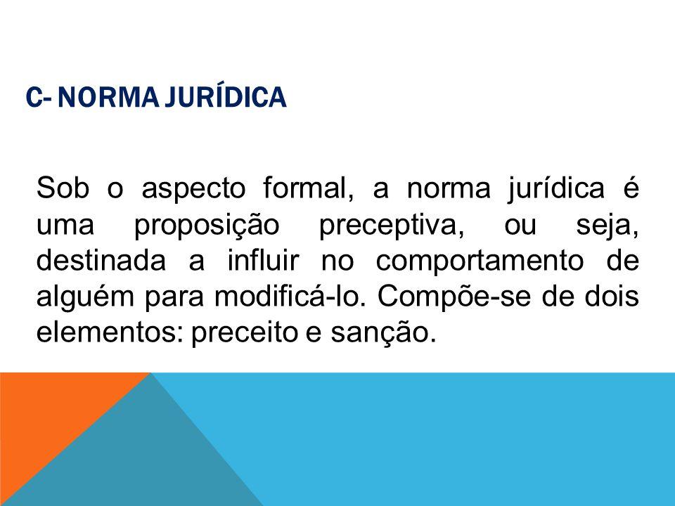 C- Norma Jurídica