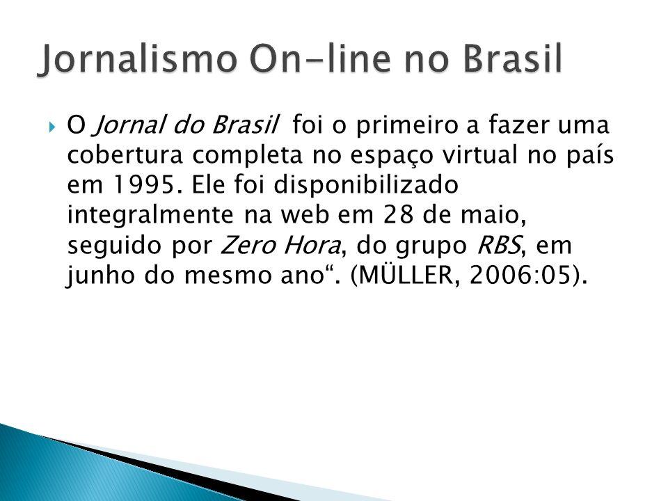 Jornalismo On-line no Brasil