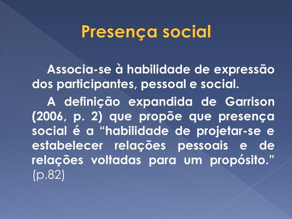 Presença social
