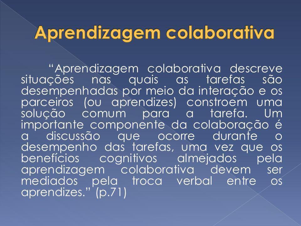 Aprendizagem colaborativa