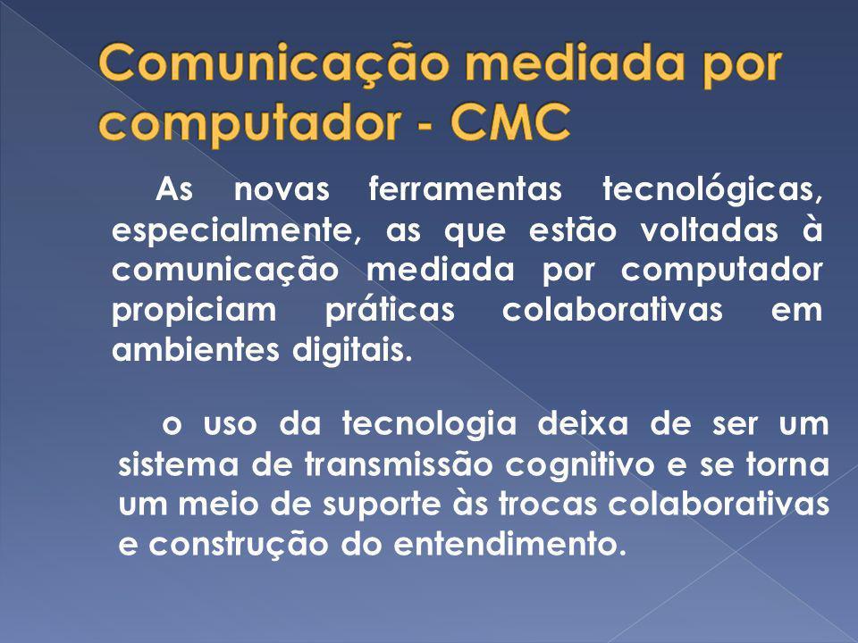 Comunicação mediada por computador - CMC