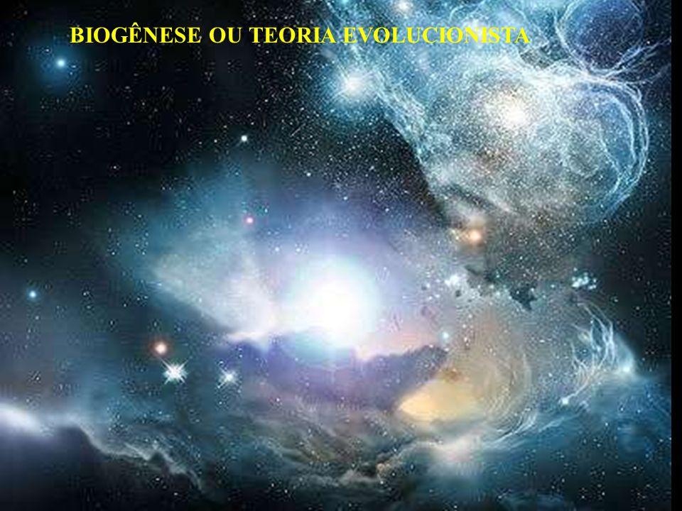 BIOGÊNESE OU TEORIA EVOLUCIONISTA