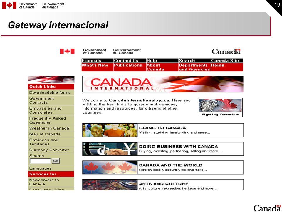 Gateway internacional