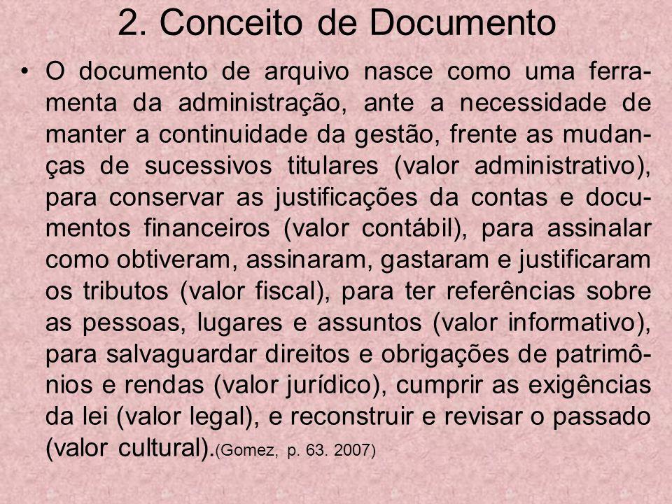 2. Conceito de Documento