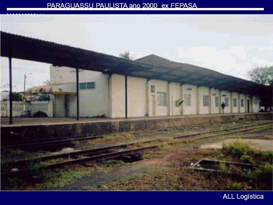PARAGUASSU PAULISTA ano 2000 ex FEPASA