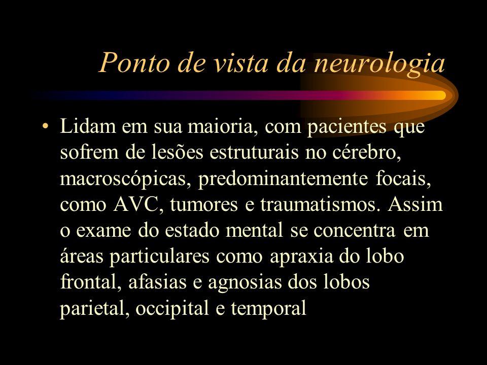 Ponto de vista da neurologia