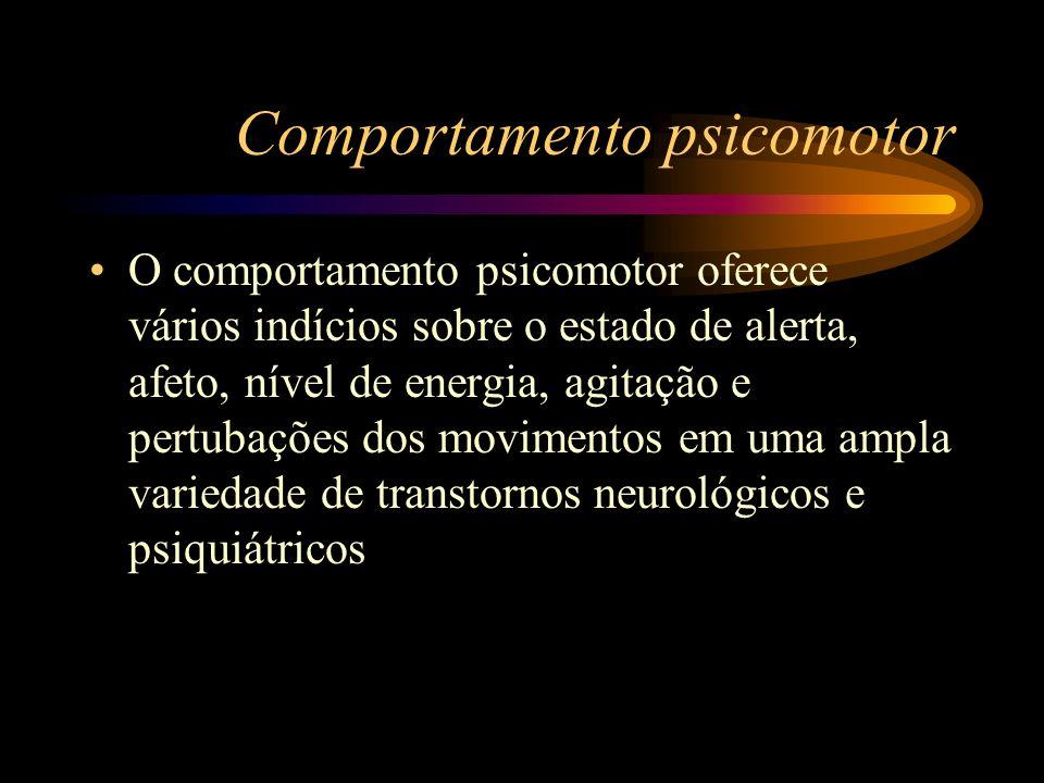 Comportamento psicomotor