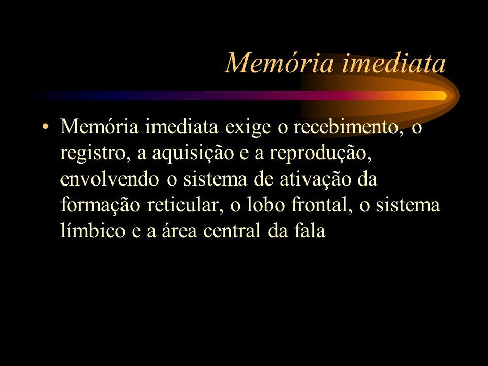 Memória imediata