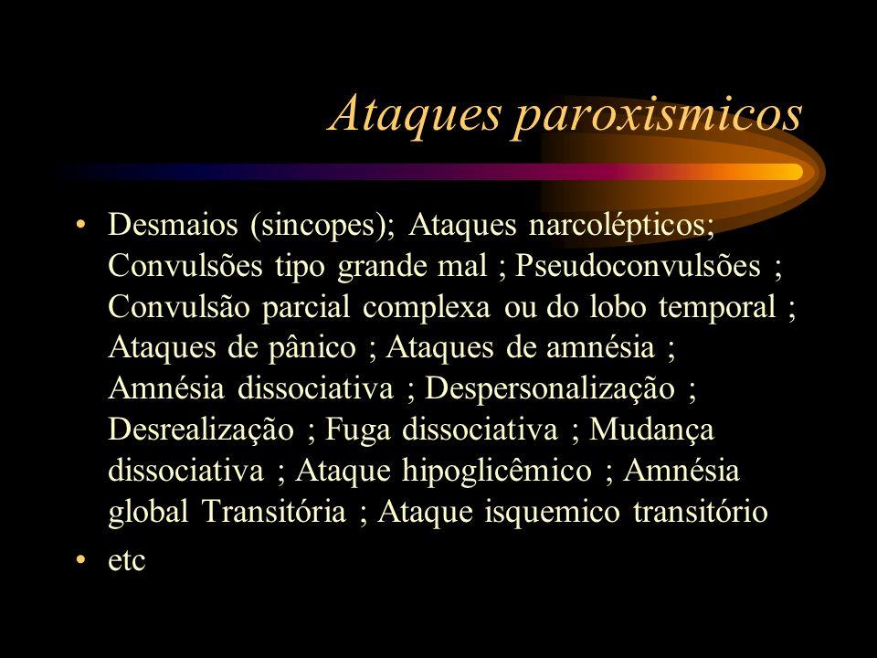 Ataques paroxismicos