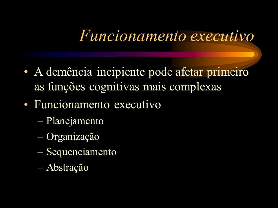 Funcionamento executivo