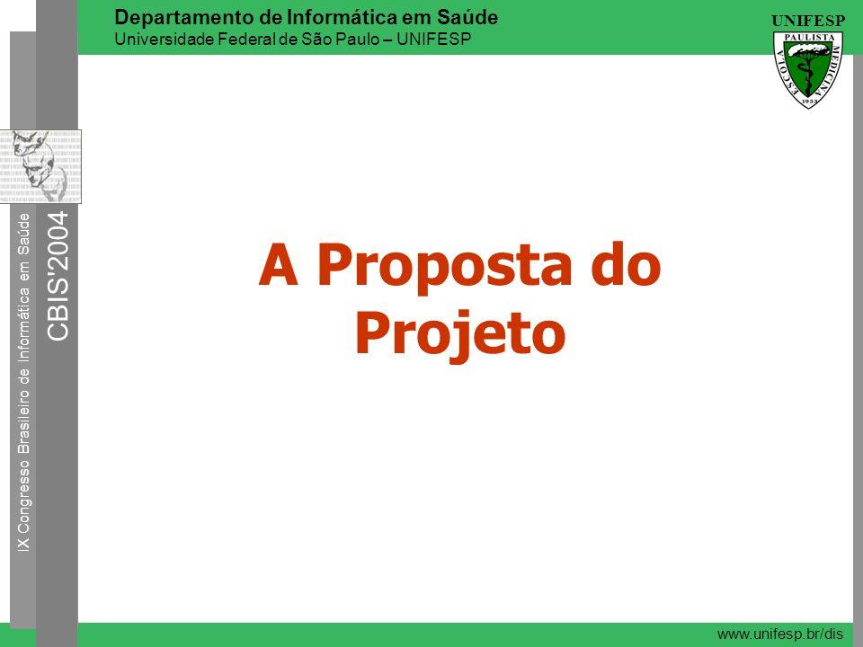 A Proposta do Projeto