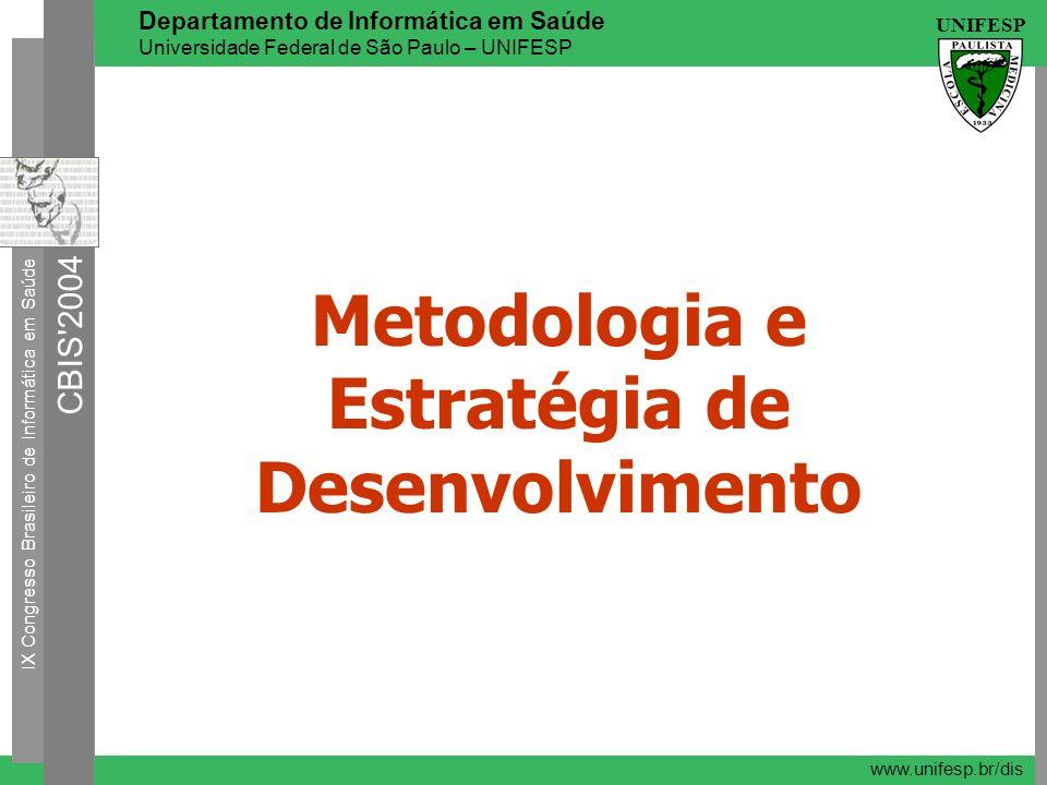 Metodologia e Estratégia de Desenvolvimento