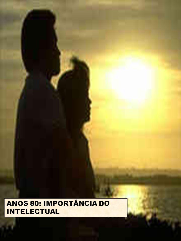 ANOS 80: IMPORTÂNCIA DO INTELECTUAL
