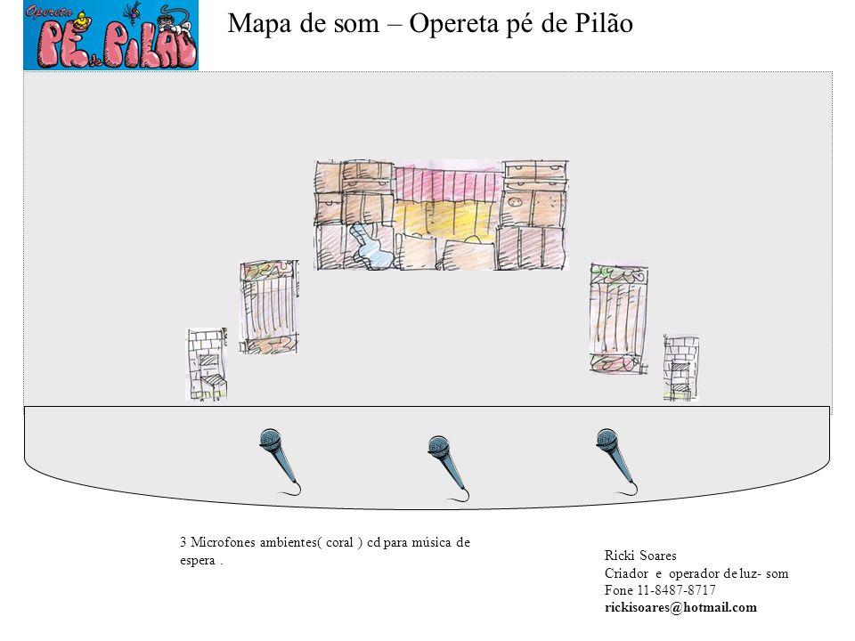 Mapa de som – Opereta pé de Pilão