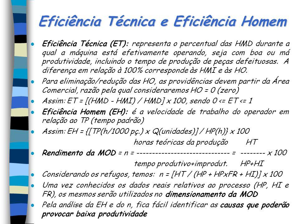 Eficiência Técnica e Eficiência Homem