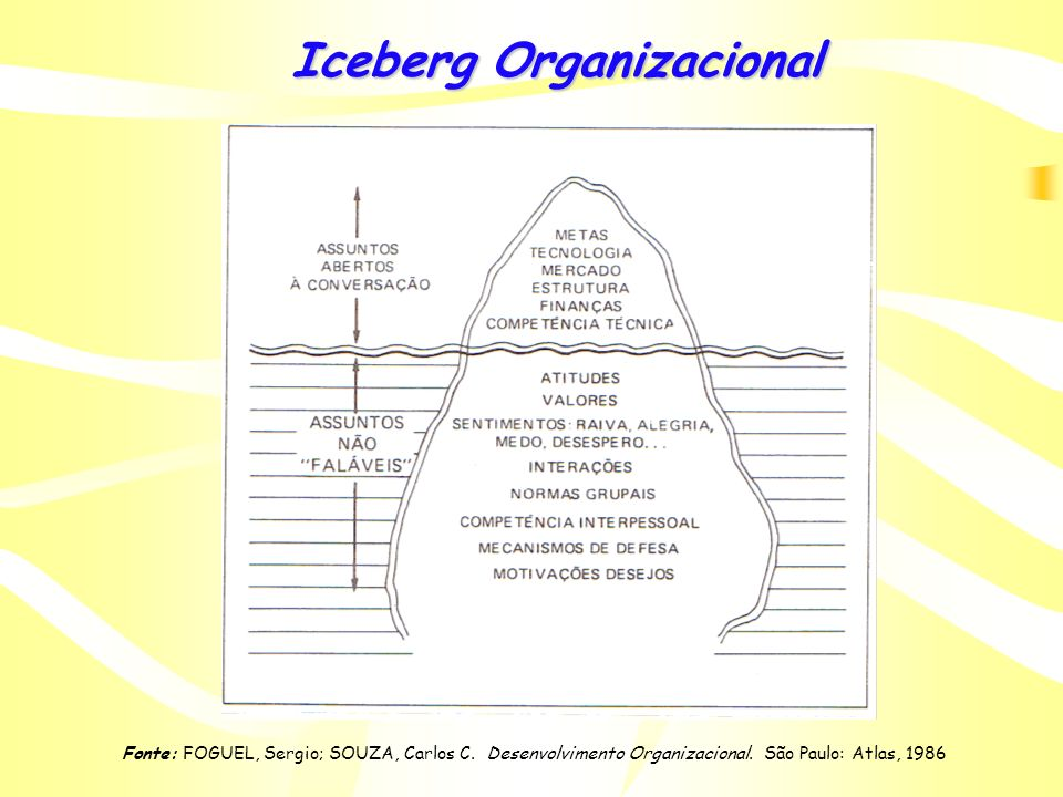 Iceberg Organizacional