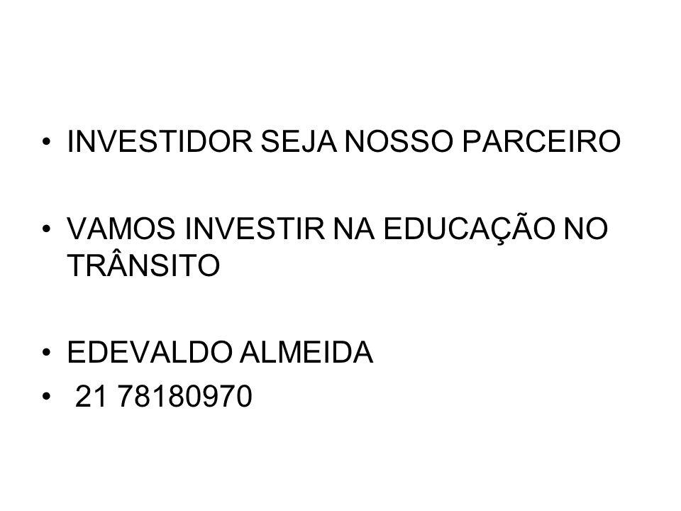 INVESTIDOR SEJA NOSSO PARCEIRO