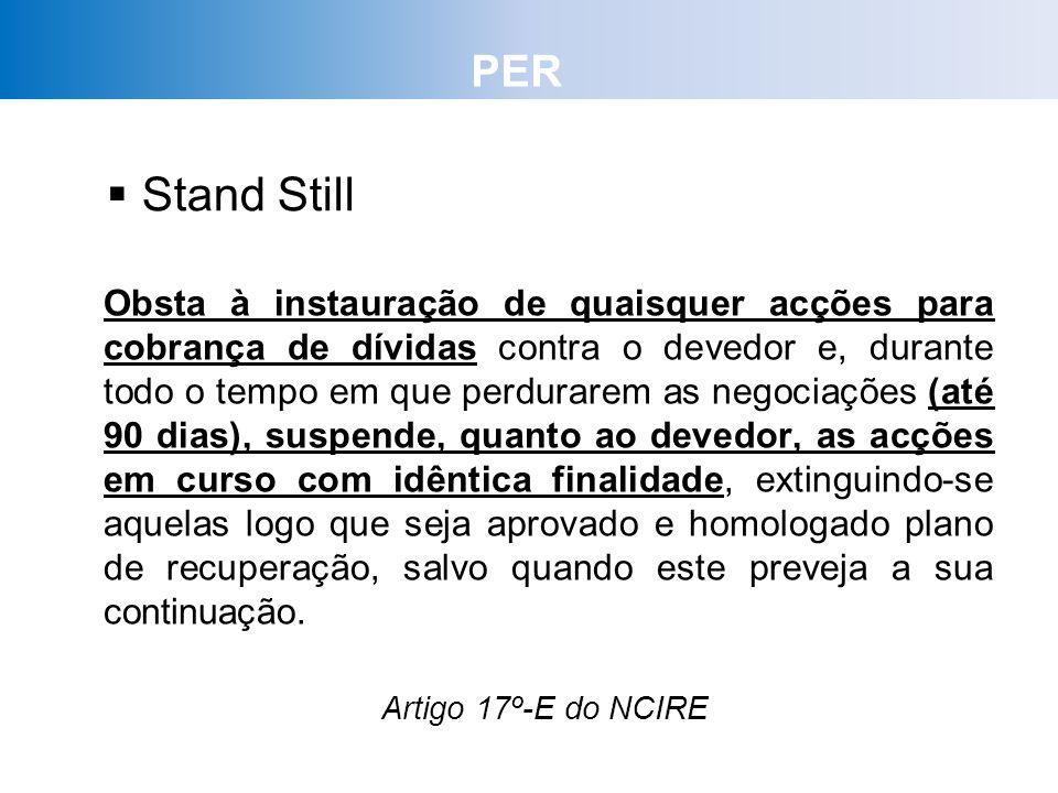 PER Stand Still.