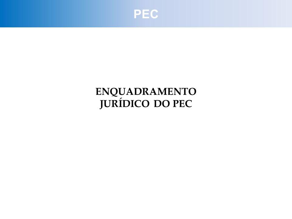 ENQUADRAMENTO JURÍDICO DO PEC