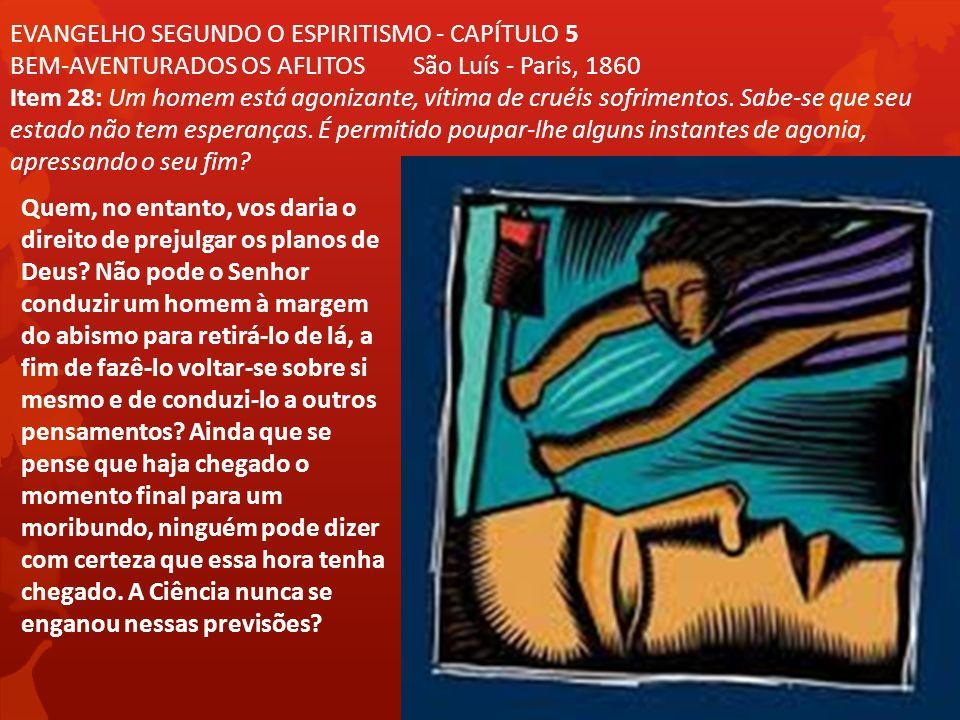EVANGELHO SEGUNDO O ESPIRITISMO - CAPÍTULO 5