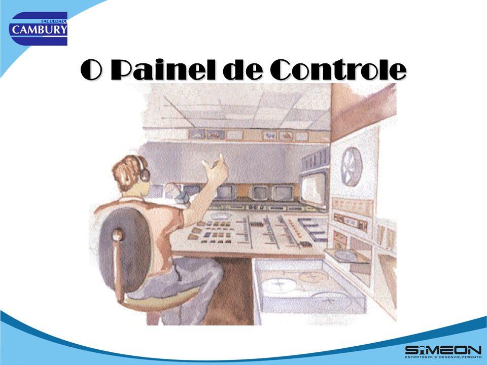 O Painel de Controle