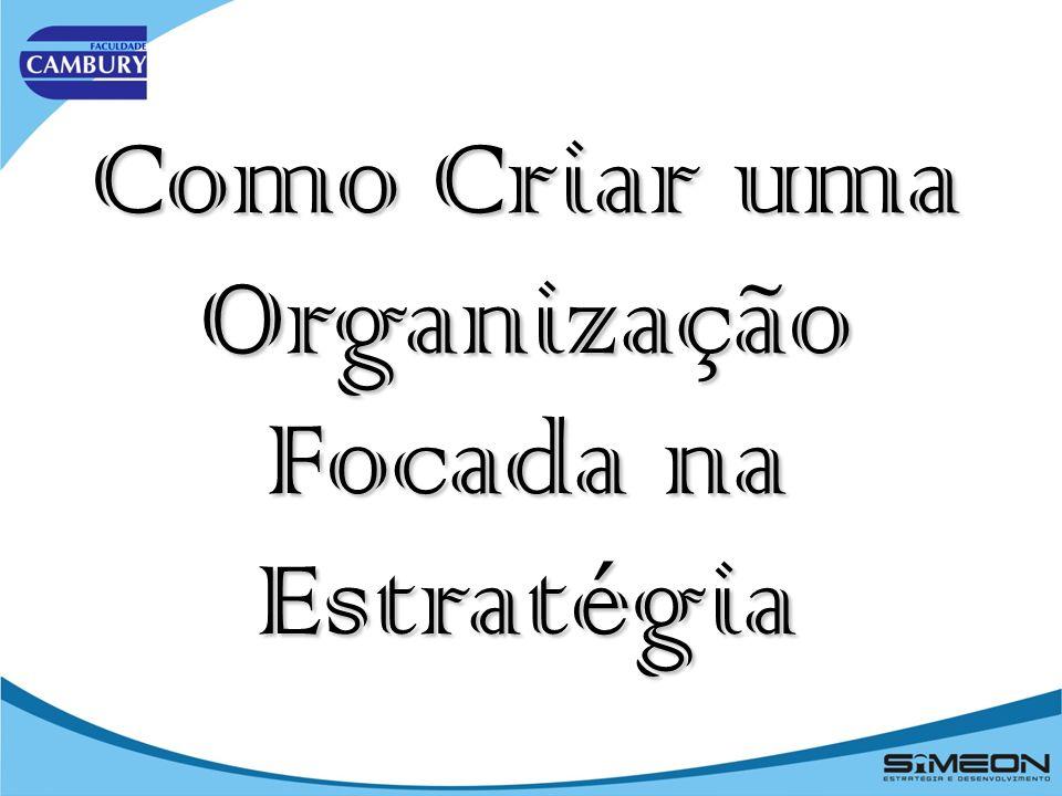 Como Criar uma Organização Focada na Estratégia