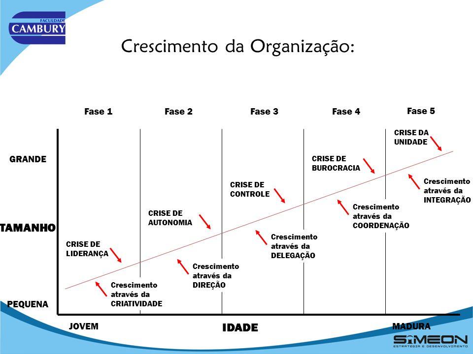 Crescimento da Organização: