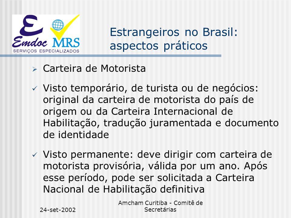 Estrangeiros no Brasil: aspectos práticos