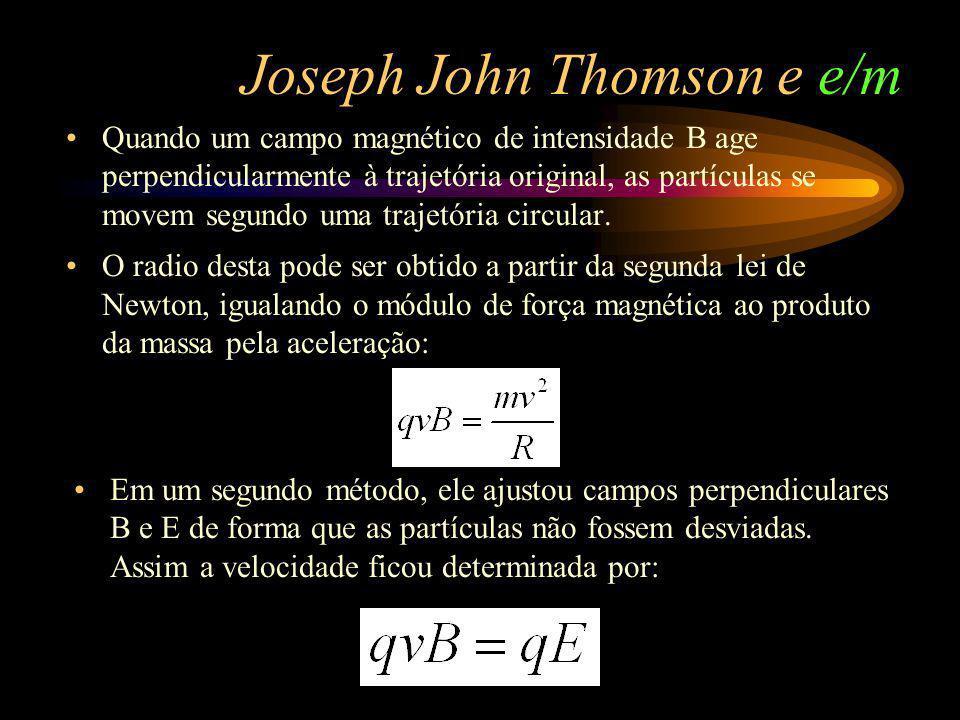Joseph John Thomson e e/m
