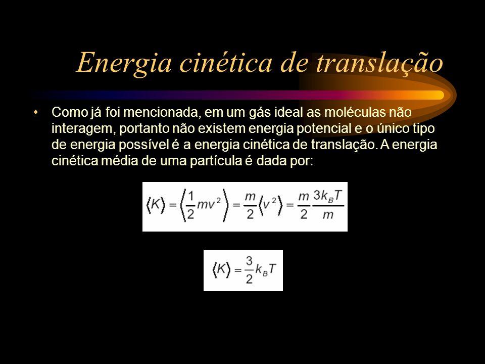 Energia cinética de translação