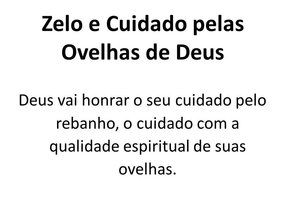 Zelo e Cuidado pelas Ovelhas de Deus