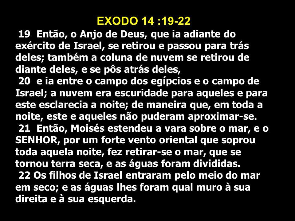 EXODO 14 :19-22