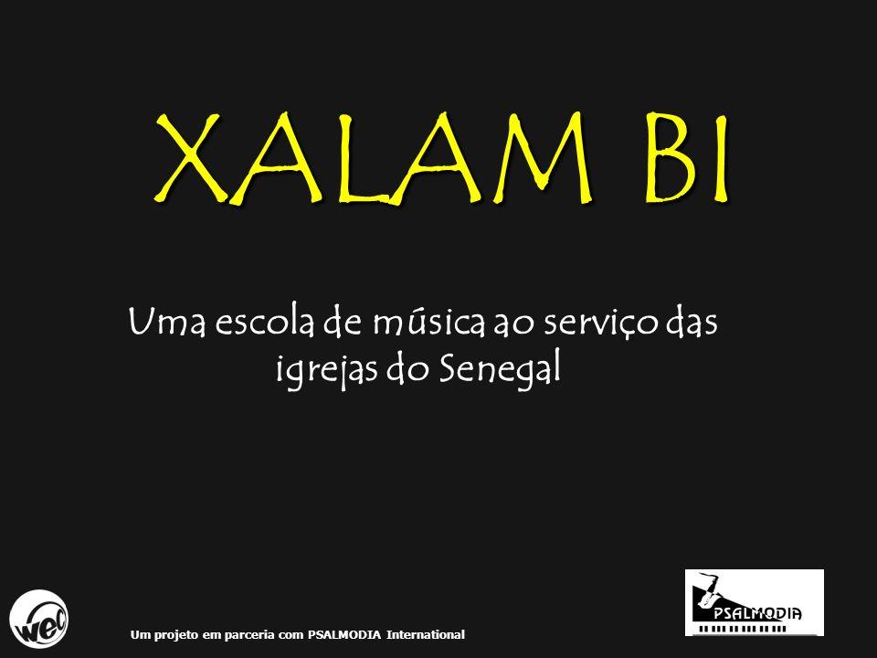 Uma escola de música ao serviço das igrejas do Senegal