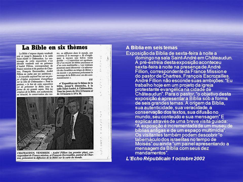A Bíblia em seis temas