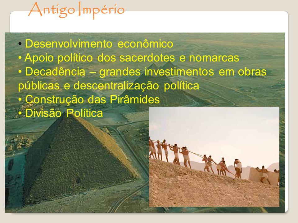 Antigo Império Desenvolvimento econômico