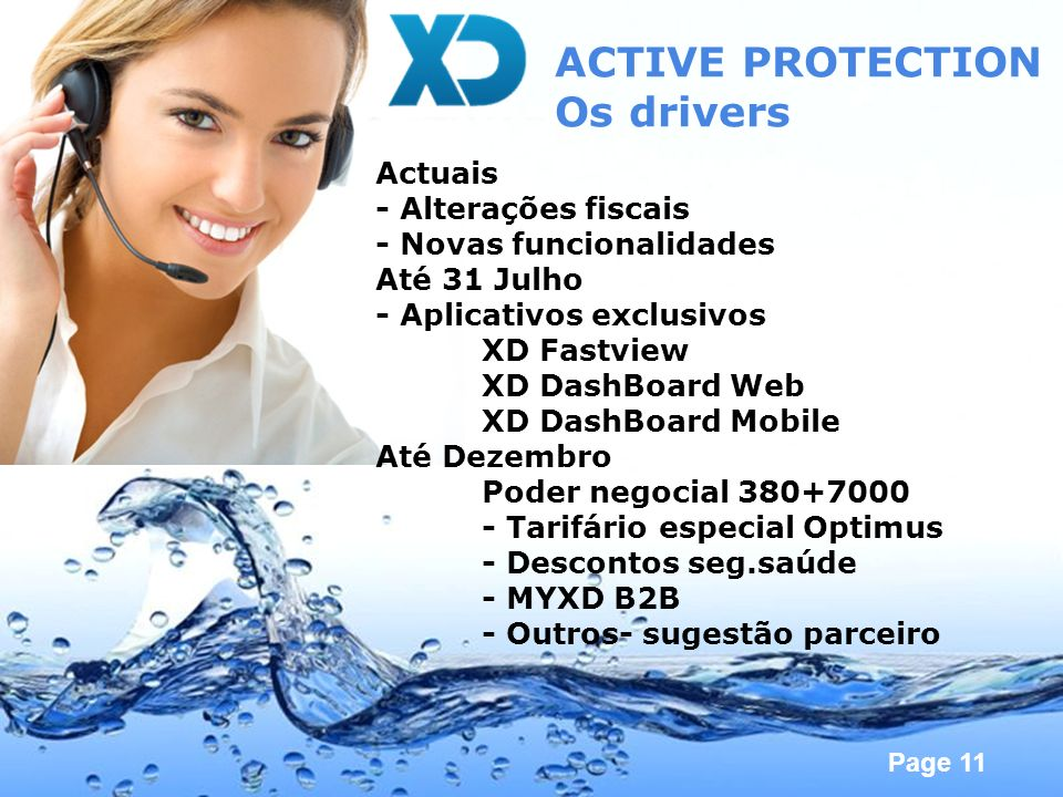 ACTIVE PROTECTION Os drivers Actuais - Alterações fiscais