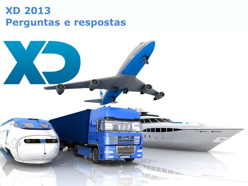 XD 2013 Perguntas e respostas