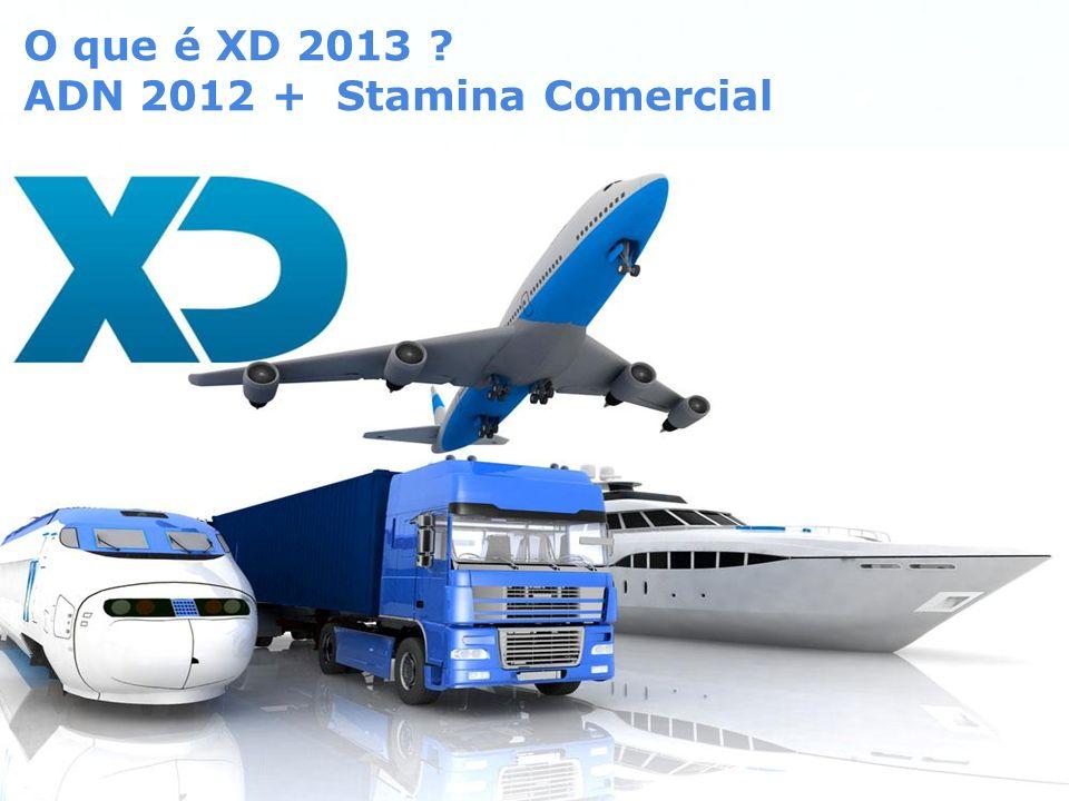 O que é XD 2013 ADN 2012 + Stamina Comercial