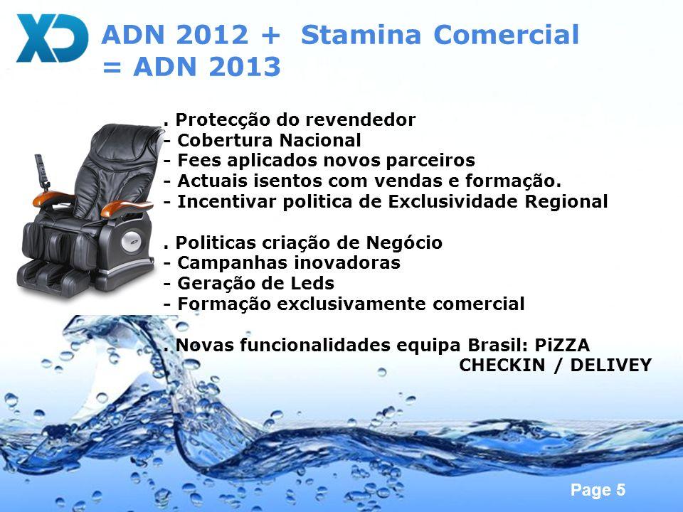 ADN 2012 + Stamina Comercial = ADN 2013